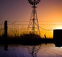 The Great Aussie Windmill by James Cole
