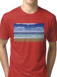 Jetty and sea Tri-blend T-Shirt