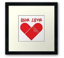 Skate Love Framed Print