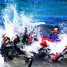 Crashing against rough seas- Naracoopa Rescue Series by oddoutlet