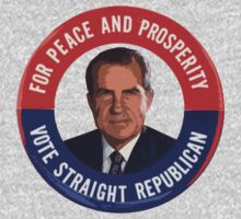 Nixon - Vote Republican - Vintage by BEGROTESQUE