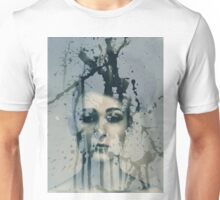 Experimental darkroom portrait 2 Unisex T-Shirt