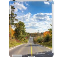 Autumn Road to Nowhere iPad Case/Skin