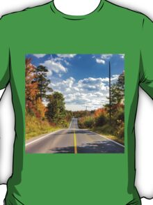 Autumn Road to Nowhere T-Shirt
