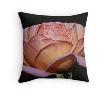 Apricot Delight Throw Pillow