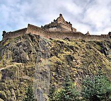 One Way Into Edinburgh Castle... by Andrew Ness - www.nessphotography.com