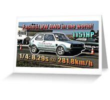 Boba Motoring mk1 Greeting Card