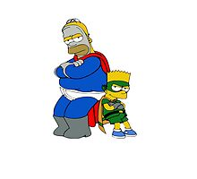 Simpson Hero HD by DioDelSole