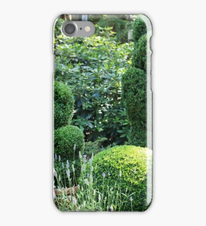 topiary green bear iPhone Case/Skin