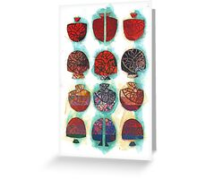 Multifaceted No.1 (Light, Time & Facade Series) Greeting Card