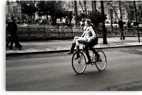 Etta & Butch Go for a Ride by Mary Ann Reilly