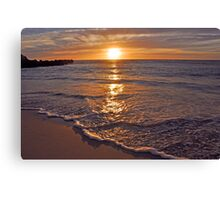 Trigg Beach Sunset  Canvas Print