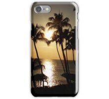 Maui Golden Sunset 2015 iPhone Case/Skin