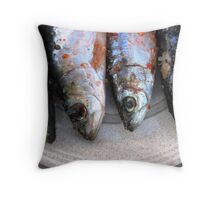 Portuguese sardines...! Throw Pillow