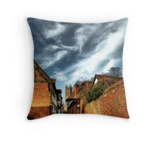 castle lane Throw Pillow
