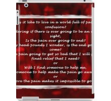 Life from my Point of View iPad Case/Skin