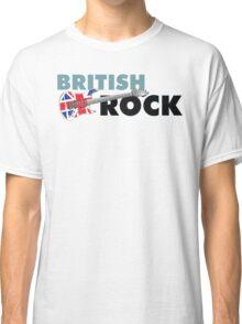 British Rock Music Guitar Classic T-Shirt