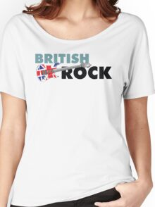 British Rock Music Guitar Women's Relaxed Fit T-Shirt