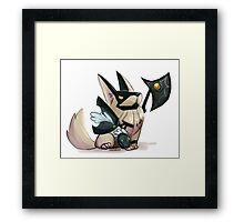 Nasus fan art Framed Print