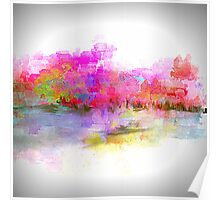 Brightly Beautiful Landscape Poster