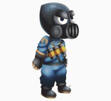 Chibi Blu Pyro Kids Clothes