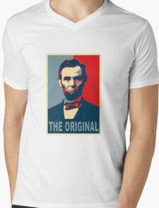 Abe: The Original Mens V-Neck T-Shirt