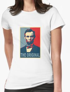 Abe: The Original Womens Fitted T-Shirt
