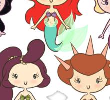 Lil' CutiEs - Mersisters Sticker