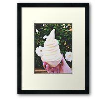 Disneyland's Dole Whips  Framed Print