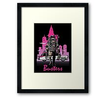 BUSTER´S DRIVE Framed Print