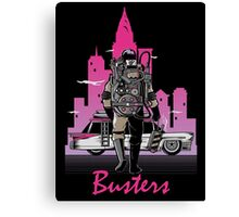 BUSTER´S DRIVE Canvas Print