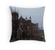 ST, MARY CHURCH Throw Pillow