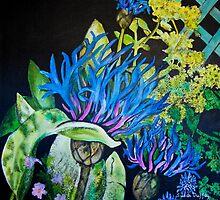 Cornflower by Susan Duffey
