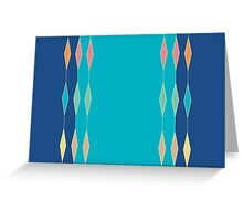 DIAMONDS SHINE Greeting Card