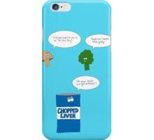 Sad Vegetables  iPhone Case/Skin