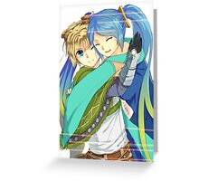Ezreal and Sona Greeting Card