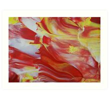 "Original Abstract Artwork ""Combustion"" by Laura Tozer Art Print"