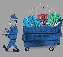 Grammar Police 2 by SteveOramA