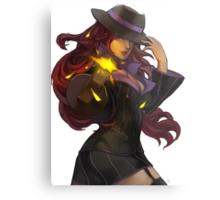 Mafia Miss Fortune Metal Print
