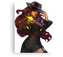 Mafia Miss Fortune Canvas Print