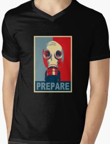 Prepare! Mens V-Neck T-Shirt