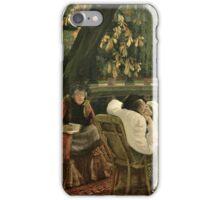 sag-65029-a-convalescent-bridgeman-art-8-7-12 by Lawrence Alma-Tadema iPhone Case/Skin
