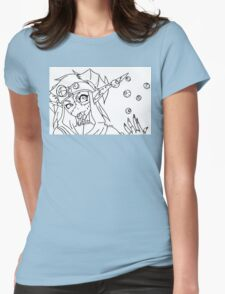 Flavored Eyes? Womens Fitted T-Shirt