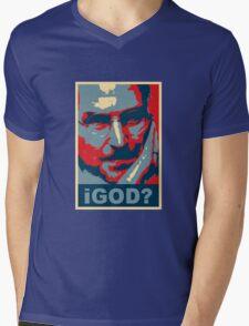 iGod? Mens V-Neck T-Shirt
