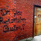 Back Alley Wisdom 4 by Clayton  Turner