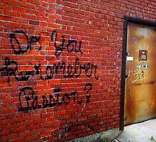 Back Alley Wisdom 4 by Clayton  Turner