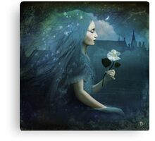 The Midnight Flower Canvas Print
