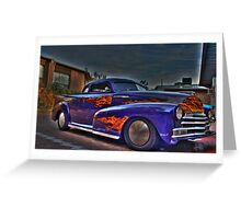 Rodders roll in Greeting Card