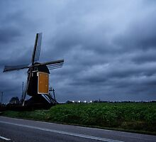 A Dutch Windmill - Beek, Limburg, The Netherlands by Mitchel Spann