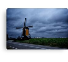 A Dutch Windmill - Beek, Limburg, The Netherlands Canvas Print